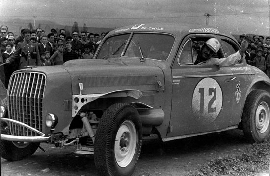 Santiago – La Serena en el historial del automóvil