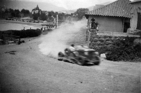 """Gran Premio """"Aliviol"""" Coquimbo a Concepción, año 1937"""