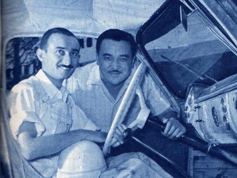 """El Gran Premio """"Concesionarios Ford"""" de 1958: La Puerto Montt – Santiago"""